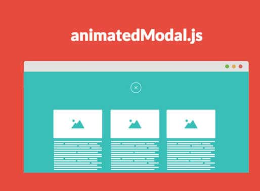 Animated Popup With jQuery – animatedModal.js