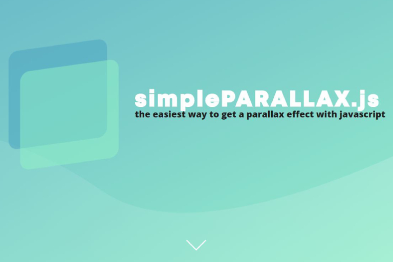 Parallax Scroll For Image Plugins With Vanilla JS – simpleParallax