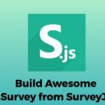 Survey javascript Plugin - SurveyJs