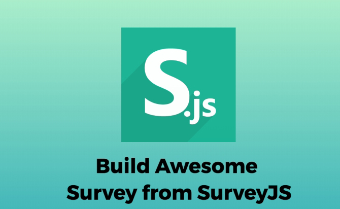 Survey javascript Plugin - SurveyJs