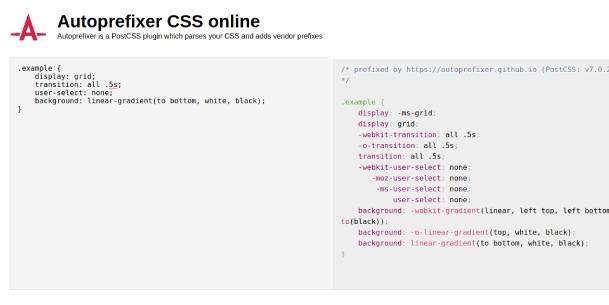 autoprefixer-cross-browsing-css-genrator