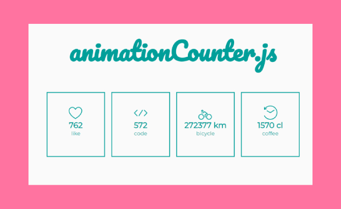 Animated Number Counter Plugin For jQuery