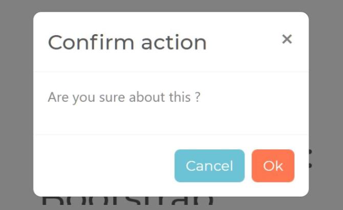 Bootstrap 4 Confirm Popup Plugin - BootConfirm.js