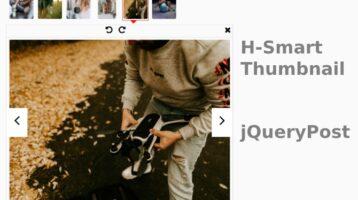 jQuery H-Smart-Thumbnail Carousel