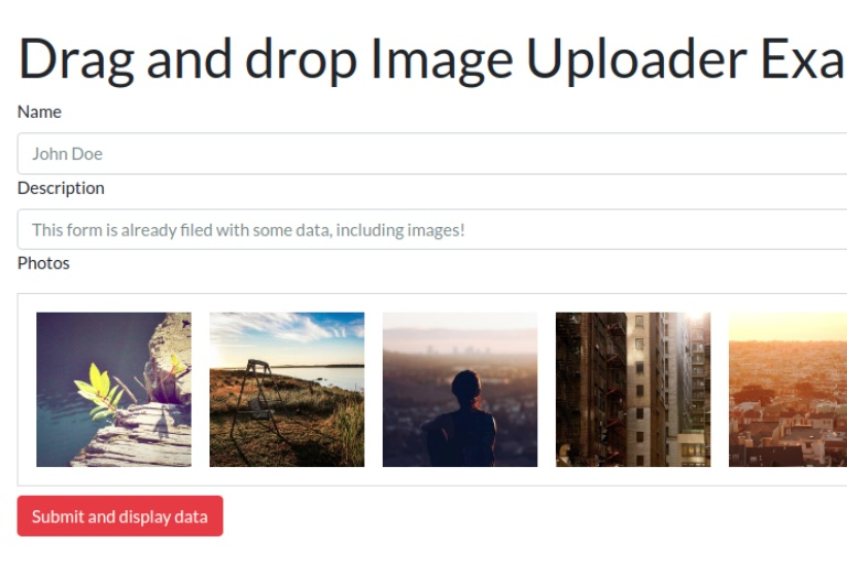 Drag and Drop File Uploading With jQuery - Image Uploader