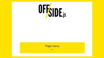 Offside.js-off-side-menu