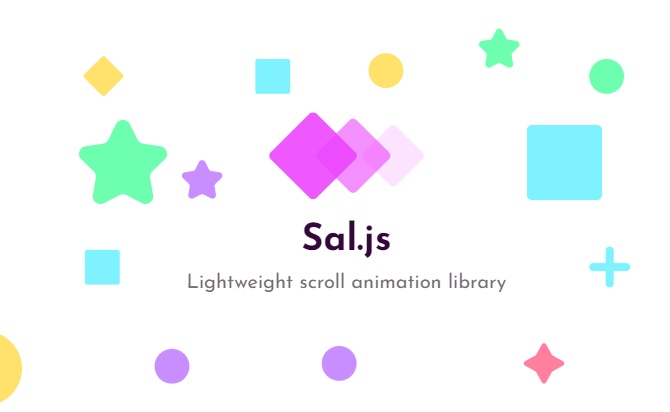 Sal - Lightweight scroll animation library