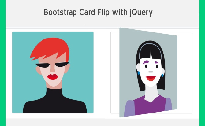 jQuery Plugin For CSS3 Powered Flip Animations - justFlipIt