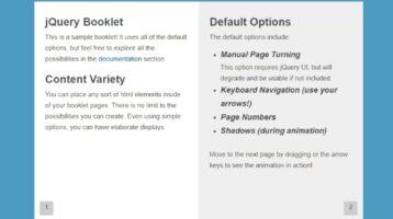 jQuery Plugin booklet flipbook