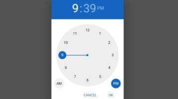 Material Inspired Clock Time Picker Plugin - jQuery MDTimePicker